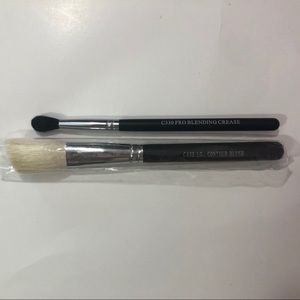 Two New Crown Makeup Brushes
